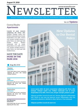 004 Astounding Real Estate Newsletter Template Design  Free Mailchimp320