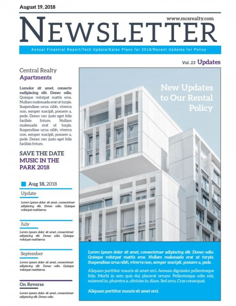 004 Astounding Real Estate Newsletter Template Design  Free Mailchimp480