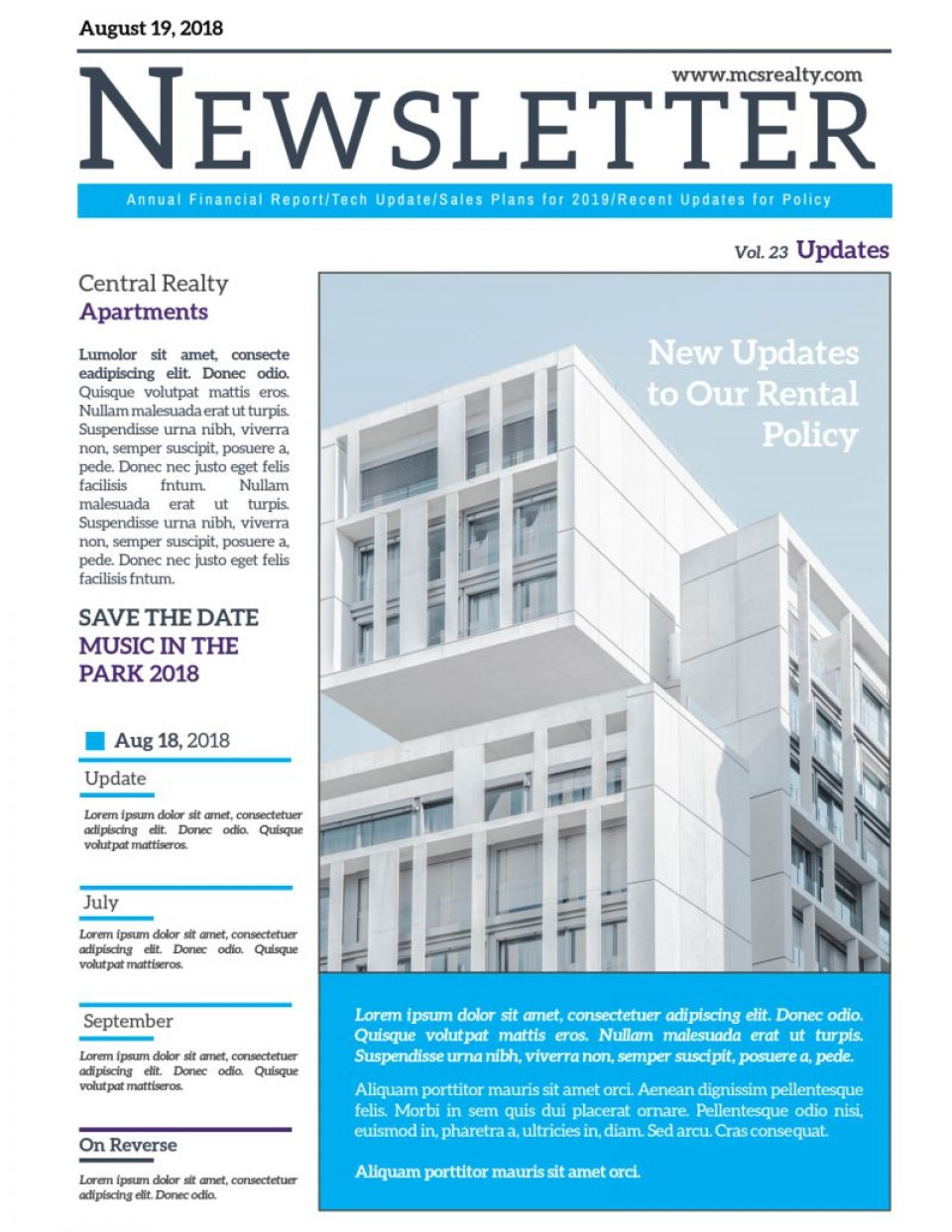 004 Astounding Real Estate Newsletter Template Design  Free Mailchimp960