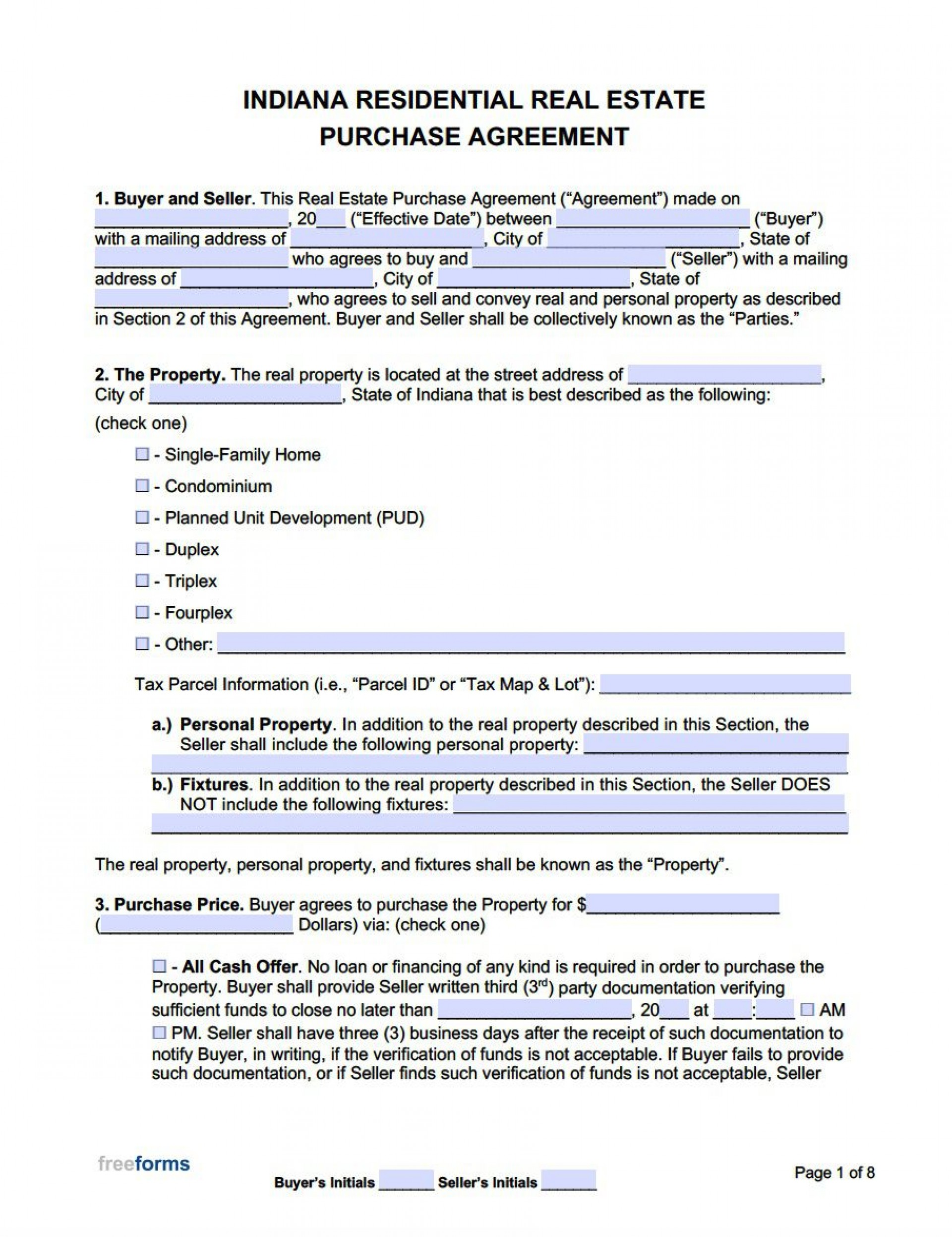 004 Astounding Real Estate Purchase Agreement Template Highest Quality  Contract California Minnesota British Columbia1920