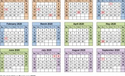 004 Awesome 2020 Yearly Calendar Template High Def  Word Uk