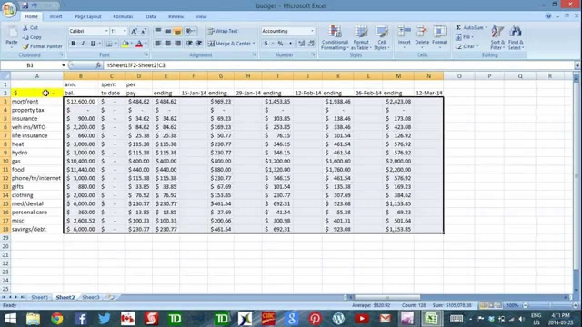 004 Awesome Cash Flow Template Excel Sample  Personal Uk Construction Forecast Simple Weekly1920