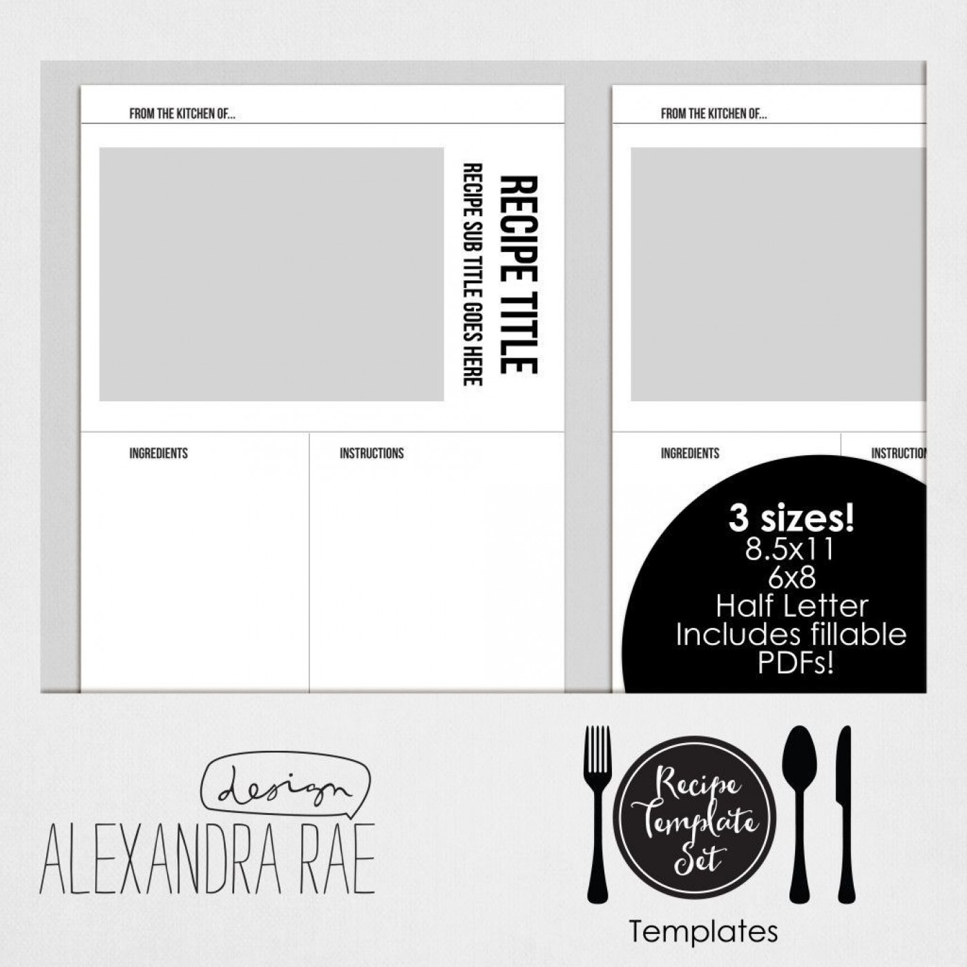 004 Awesome Create Your Own Cookbook Template Idea  Free1400