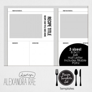 004 Awesome Create Your Own Cookbook Template Idea  Free320