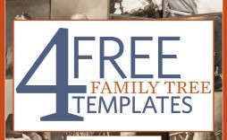 004 Awesome Family Tree Book Template High Definition  Photo Free
