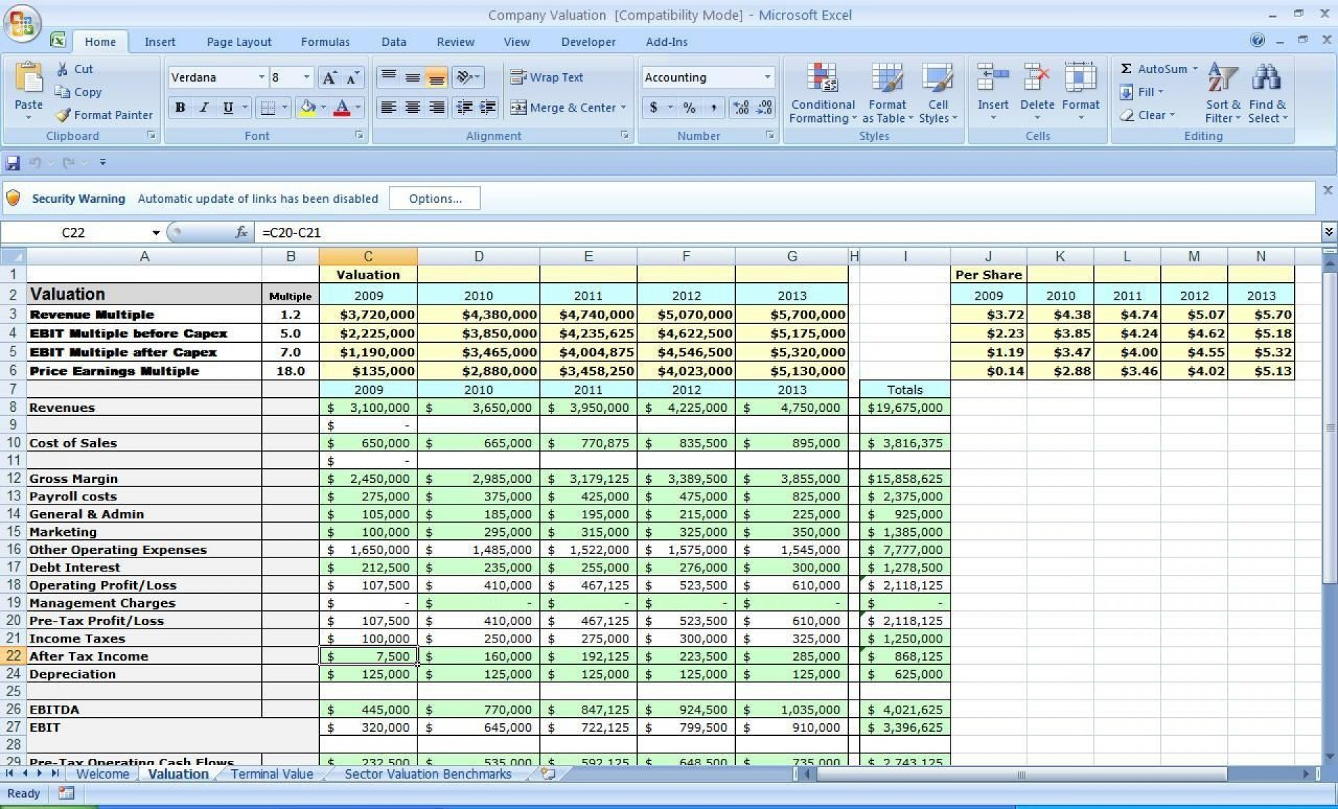 004 Awesome Financial Plan Template Excel Design  Strategic Busines Simple1920