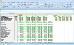 004 Awesome Financial Plan Template Excel Design  Strategic Busines Simple