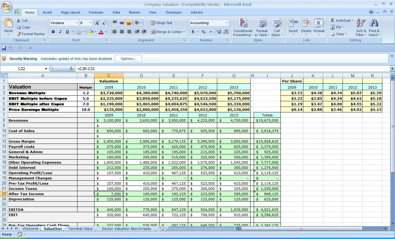 004 Awesome Financial Plan Template Excel Design  Strategic Busines SimpleFull