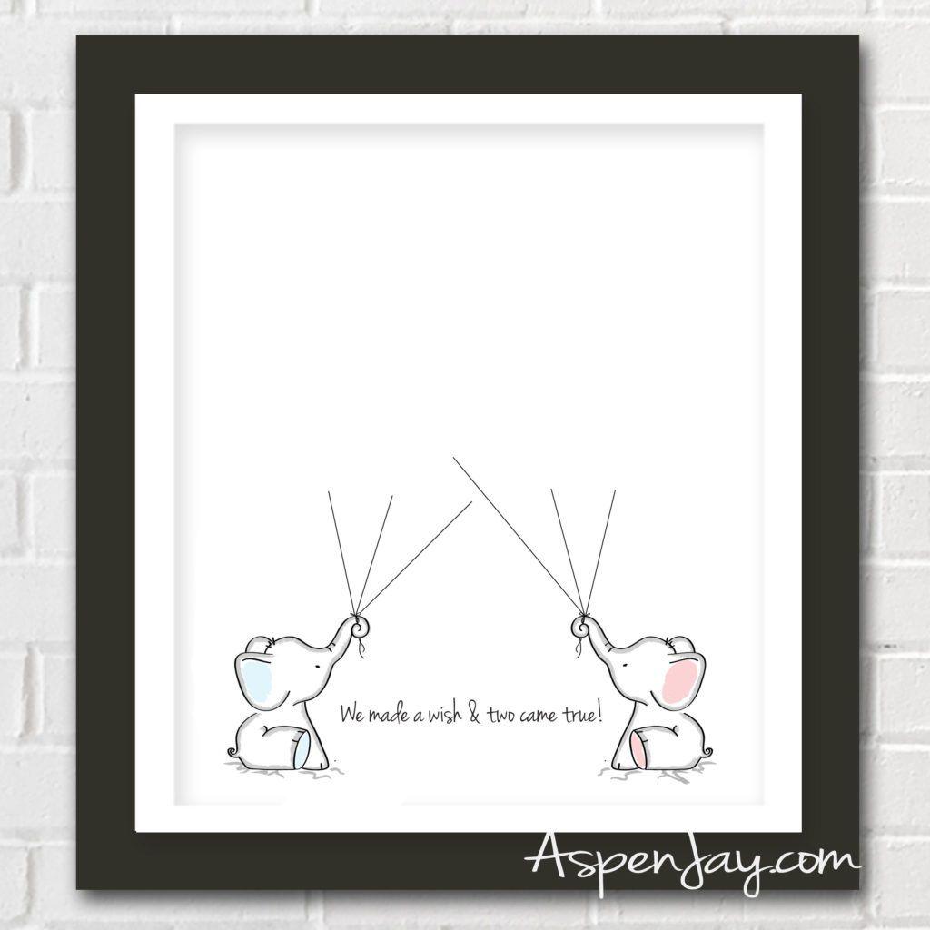 004 Awesome Free Baby Shower Printable Elephant Design  DecorationFull