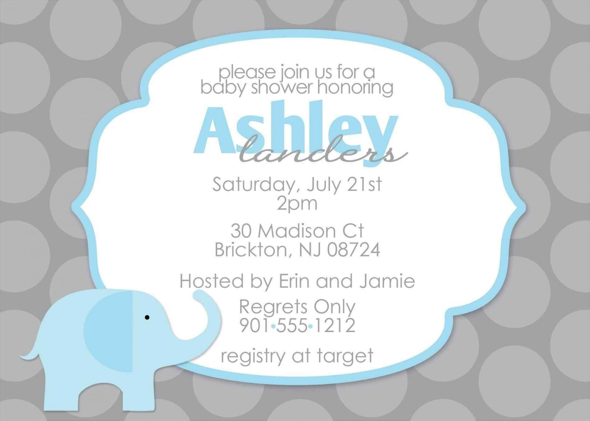 004 Awesome Free Baby Shower Template For Powerpoint High Def  Background1920