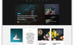 004 Awesome Free Responsive Portfolio Blogger Template Highest Clarity