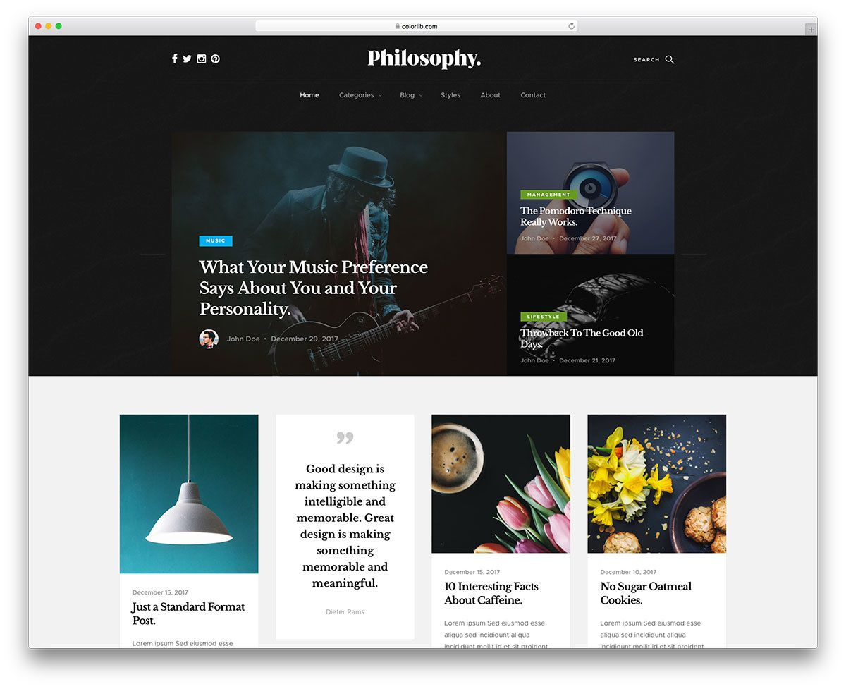 004 Awesome Free Responsive Portfolio Blogger Template Highest Clarity Full