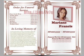 004 Awesome Funeral Program Template Free High Resolution  Printable Design
