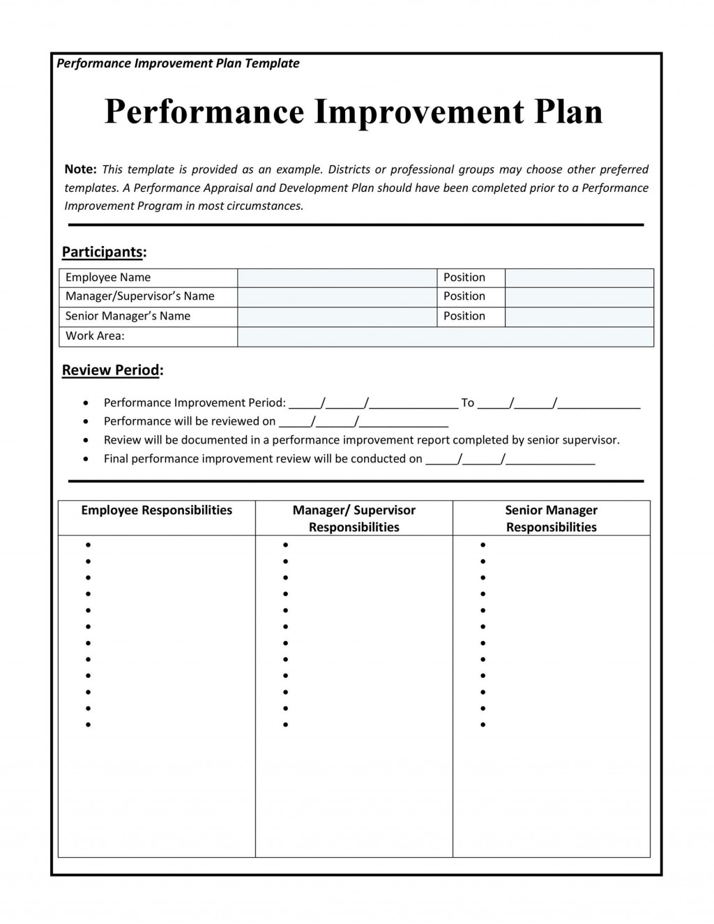 004 Awesome Personal Development Plan Template Word High Resolution  Free MLarge