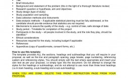 004 Awesome Research Project Proposal Example Pdf Idea  Format