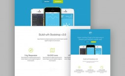 004 Awesome Responsive Landing Page Template Inspiration  Free Html With Flexbox Html5