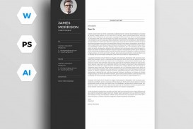 004 Awesome Resume Cover Letter Template Free Highest Clarity  Simple Online Microsoft