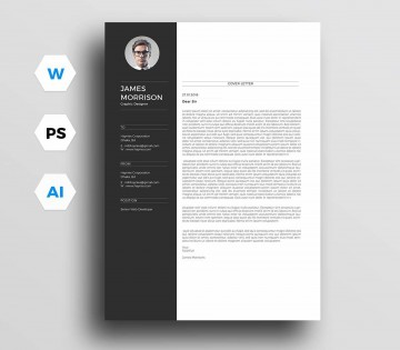 004 Awesome Resume Cover Letter Template Free Highest Clarity  Simple Online Microsoft360