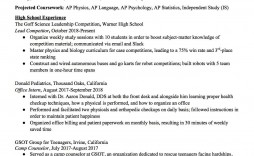 004 Awesome Resume Template High School Design  For Student Internship Microsoft Word 2010 Doc