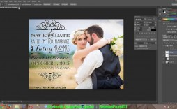 004 Awesome Save The Date Template Photoshop Inspiration  Adobe Card