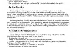004 Awesome Simple Application Test Plan Template Inspiration  Word Software Excel