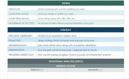 004 Awesome Strategic Planning Template Free Inspiration  Excel 6 It For Cio