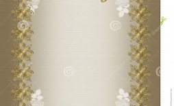 004 Awful 50th Wedding Anniversary Invitation Template Design  Templates Card Sample Golden
