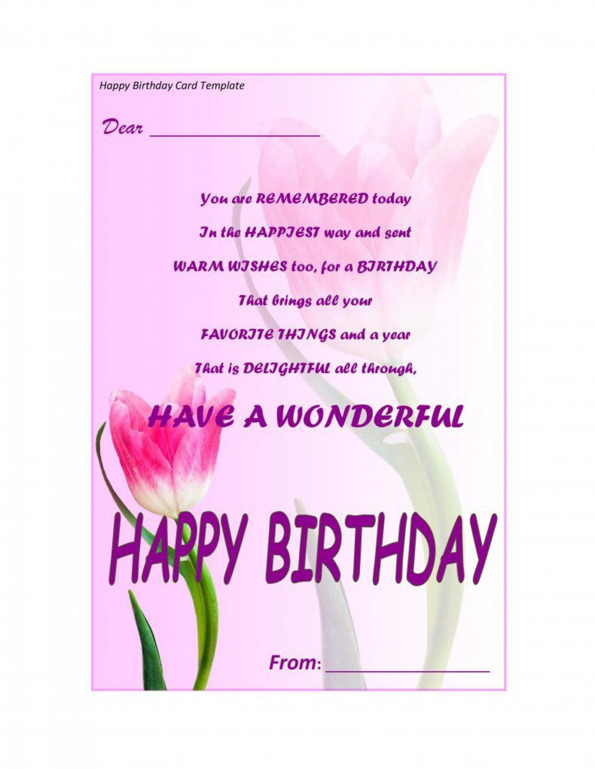 004 Awful Birthday Card Template For Microsoft Word High Def  Free Greeting Layout1920
