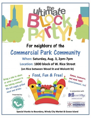 004 Awful Block Party Flyer Template Sample  Free360