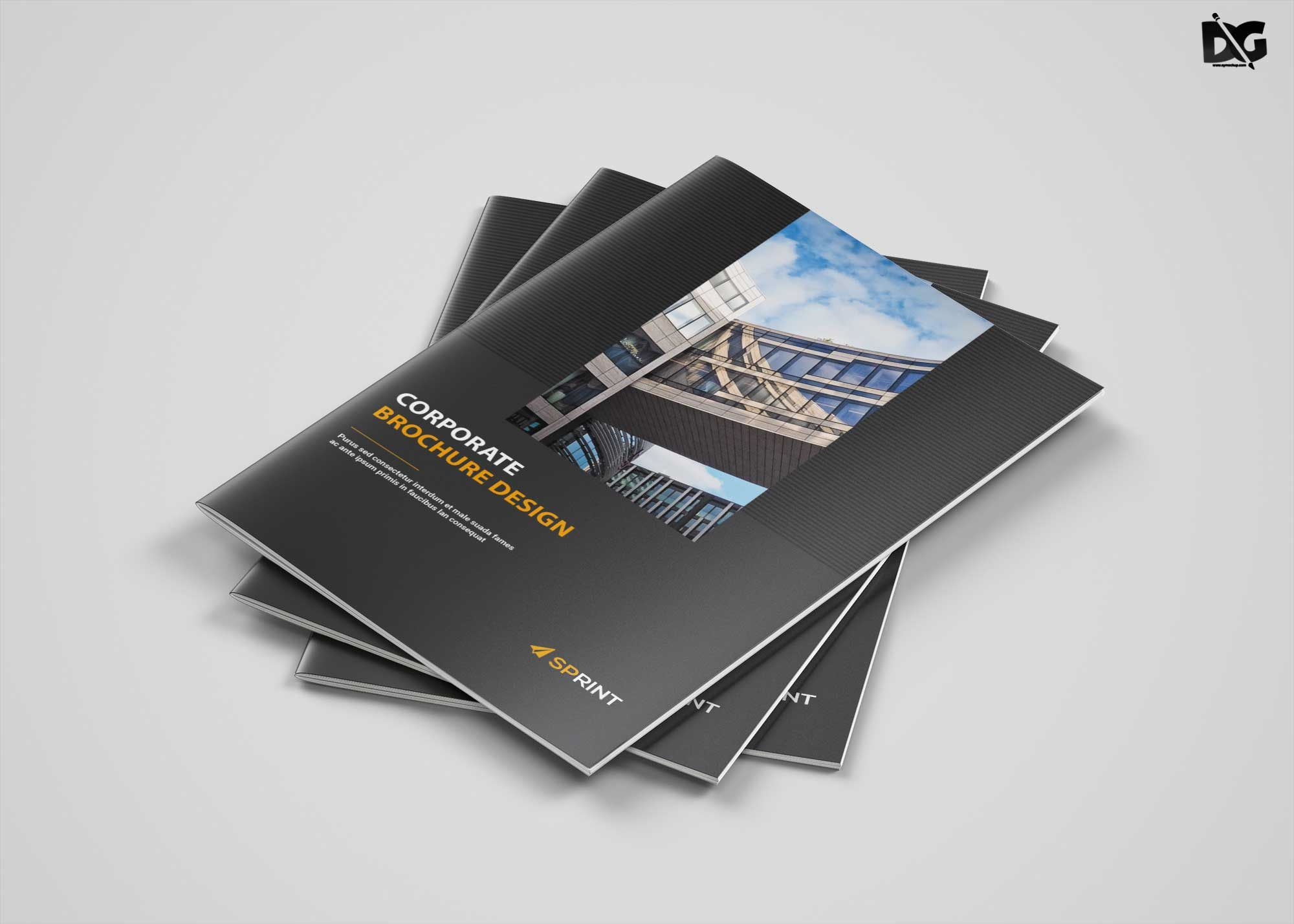 004 Awful Brochure Design Template Psd Free Download Inspiration  HotelFull
