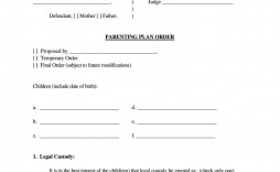 004 Awful Child Custody Agreement Template Concept  Canada Nc Ontario