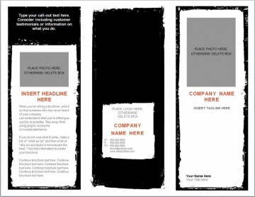 004 Awful Download Brochure Template For Microsoft Word 2007 High Definition  Free360