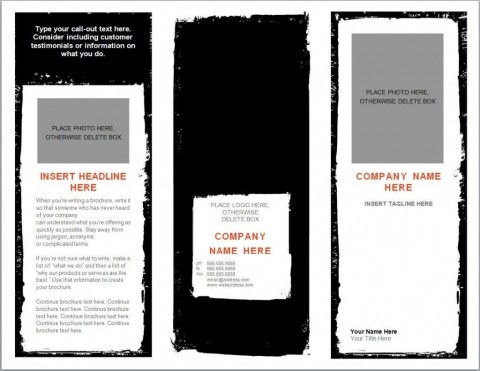 004 Awful Download Brochure Template For Microsoft Word 2007 High Definition  Free480