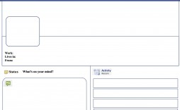 004 Awful Fake Facebook Page Template High Def  Busines Microsoft Word Create A
