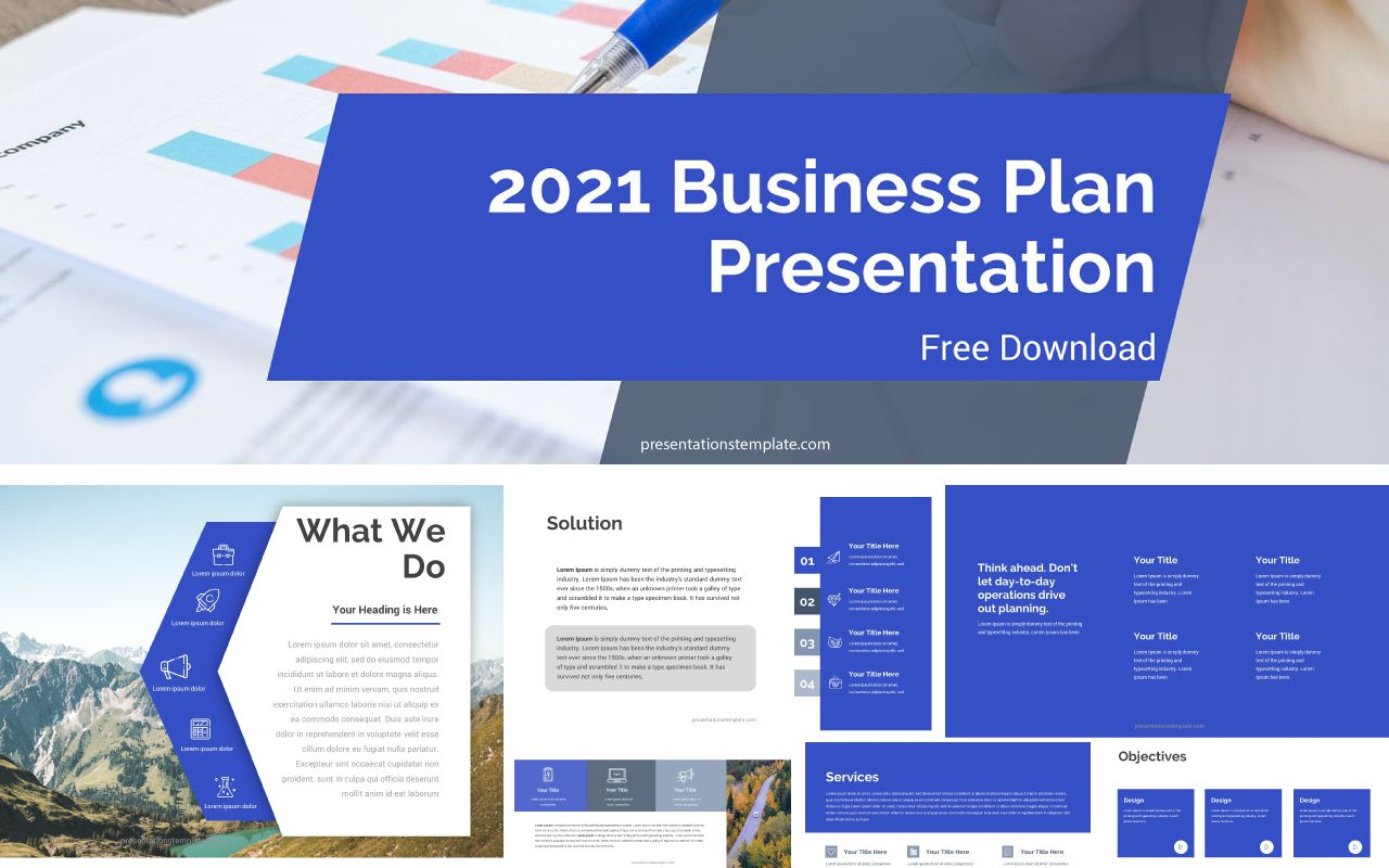 004 Awful Free Busines Plan Powerpoint Template Download Highest Clarity  Modern UltimateFull