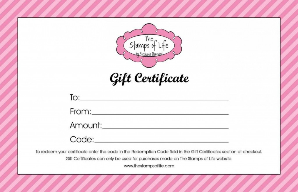 004 Awful Free Printable Template For Gift Certificate Example  VoucherLarge