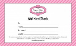 004 Awful Free Printable Template For Gift Certificate Example  Certificates Voucher Birthday