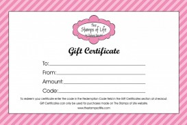 004 Awful Free Printable Template For Gift Certificate Example  Voucher