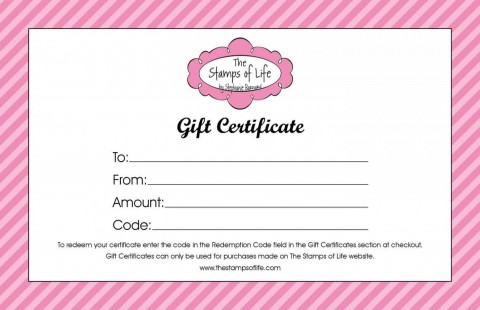 004 Awful Free Printable Template For Gift Certificate Example  Voucher480
