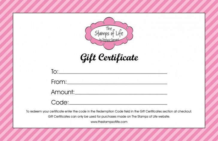 004 Awful Free Printable Template For Gift Certificate Example  Voucher728