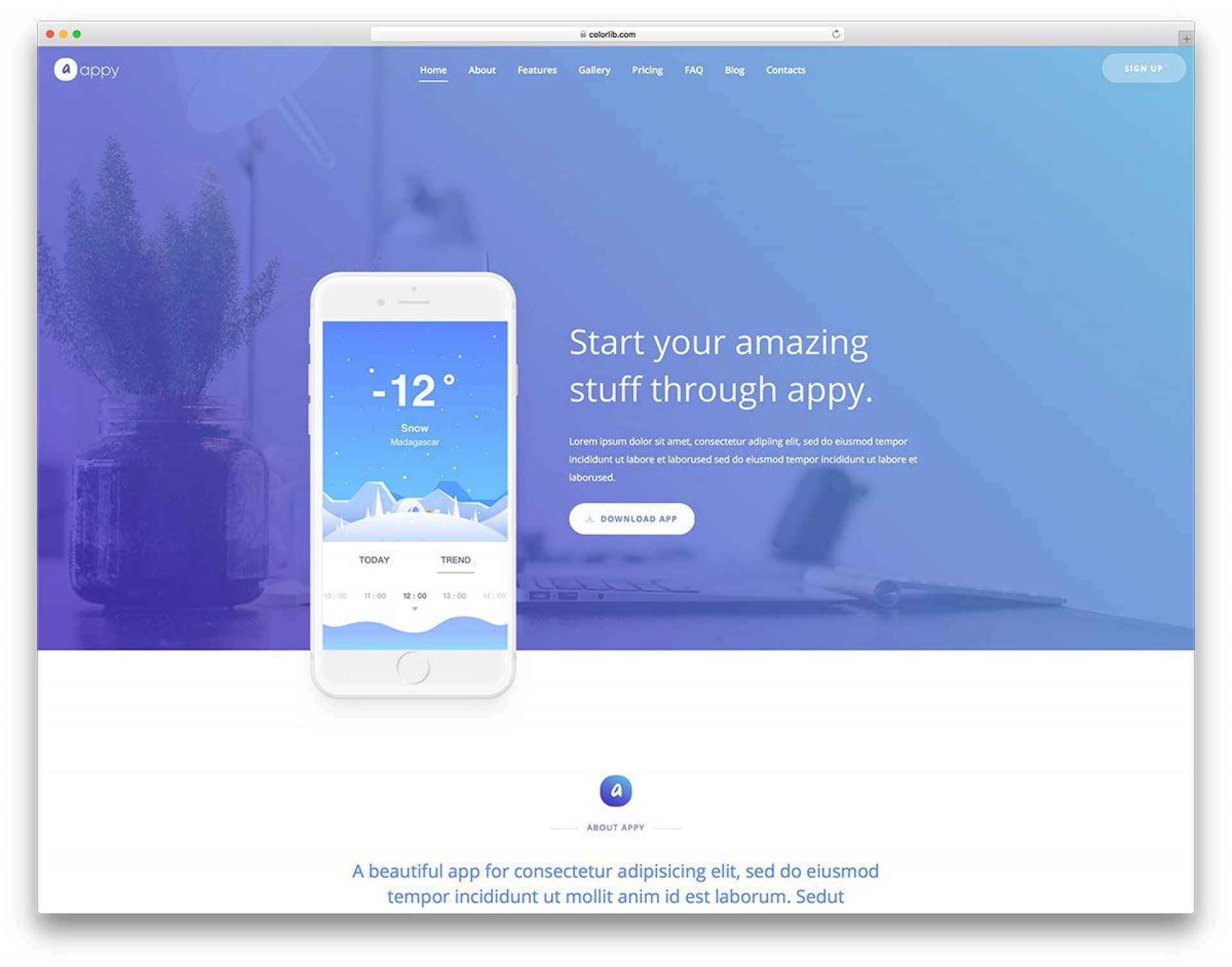 004 Awful Free Simple Web Page Template Inspiration  Html Website Cs1920