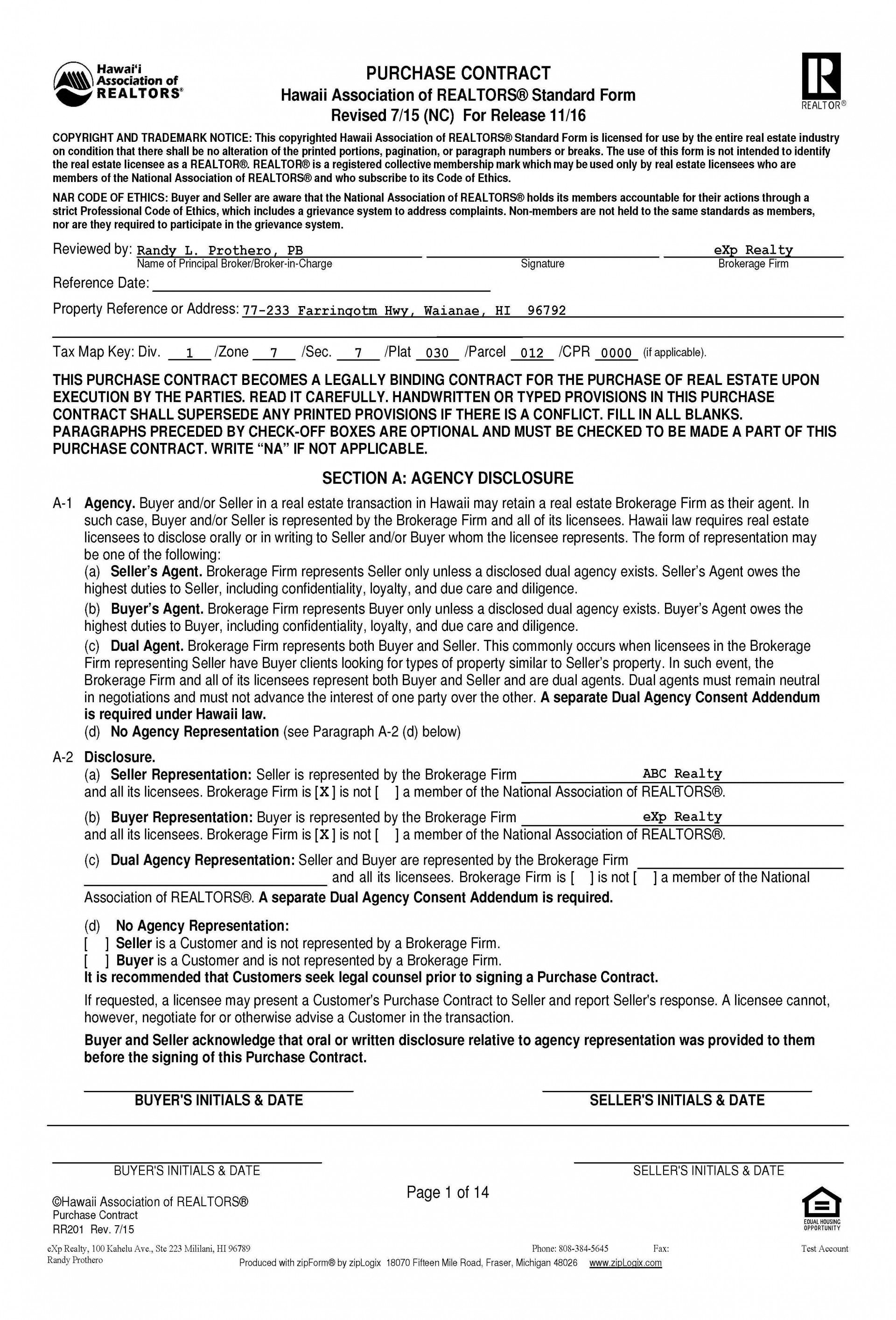 004 Awful Home Purchase Agreement Template Michigan Idea 1920