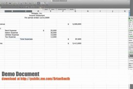 004 Awful Income Statement Format In Excel With Formula Concept