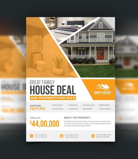 004 Awful Open House Flyer Template Highest Clarity  Word Free School Microsoft480