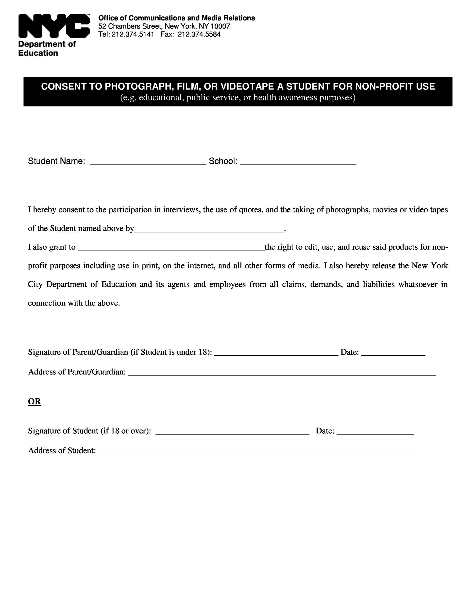 004 Awful Photography Release Form Template Picture  Image Australia CanadaFull