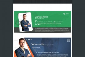 004 Awful Professional Email Signature Template Picture  Busines Download