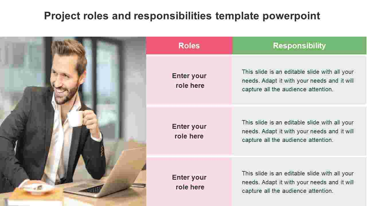 004 Awful Project Role And Responsibilitie Template Powerpoint Sample Full