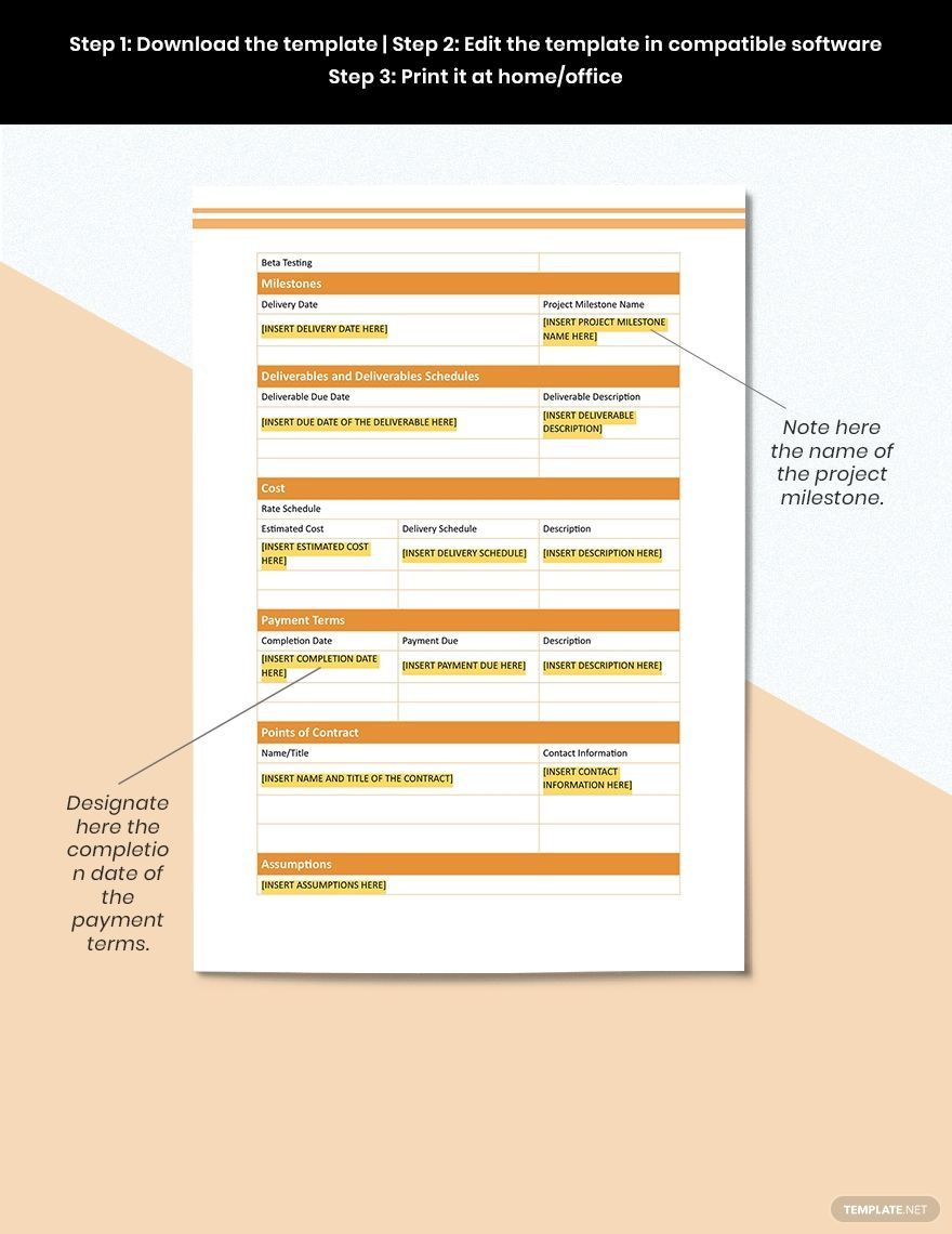 004 Awful Project Statement Of Work Template Doc Image Full