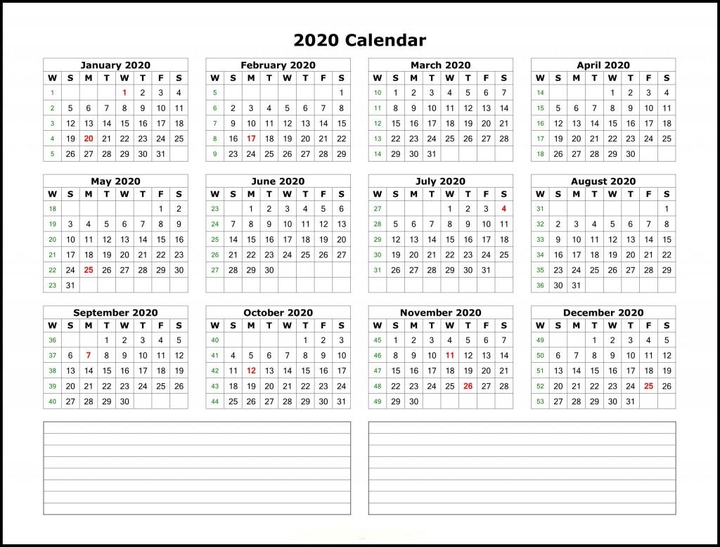 004 Beautiful 2020 Calendar Template Excel Highest Clarity  Microsoft Editable In Format Free DownloadLarge