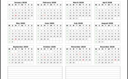 004 Beautiful 2020 Calendar Template Excel Highest Clarity  Microsoft Editable In Format Free Download